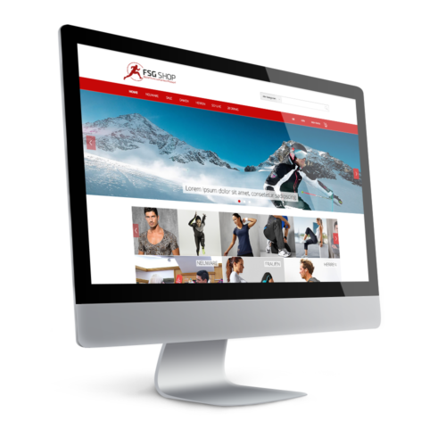 Onlineshop - Shopware - Webdesign