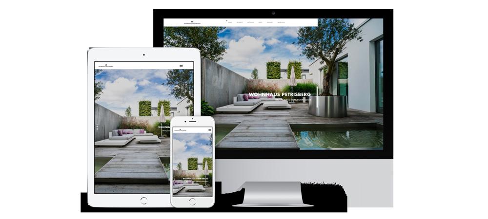 Internetseite für Architekten - MontMedia