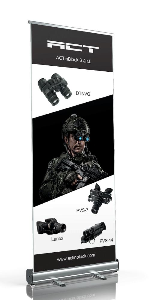 Print - Rollup Banner - Design