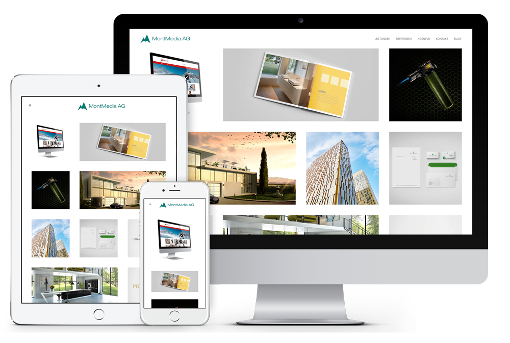 Webseite - MontMedia AG