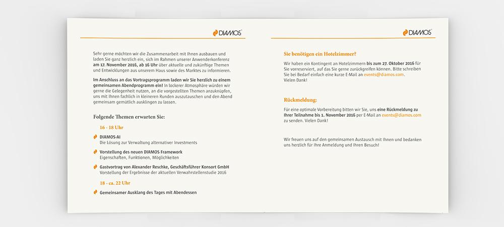 Pint - Diamos - Einladung - Flyer