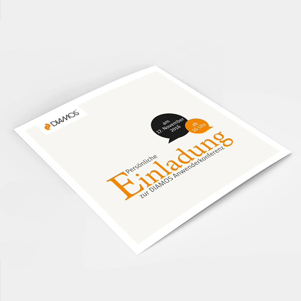 Pint - Diamos - Einladung - Flyer