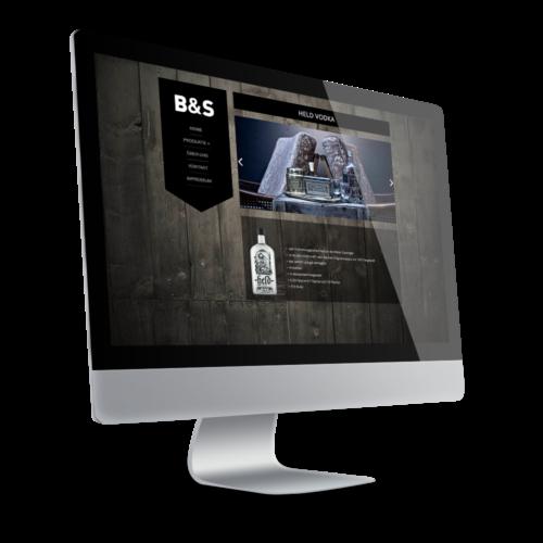 Internetseite für Getränkehersteller