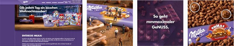 Milka - Schokolade - Instagram-Feed
