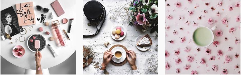 Flatlays - Instagram-Feed