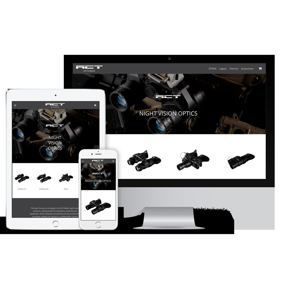 Onlineshop - ECommerce - ACTinBlack